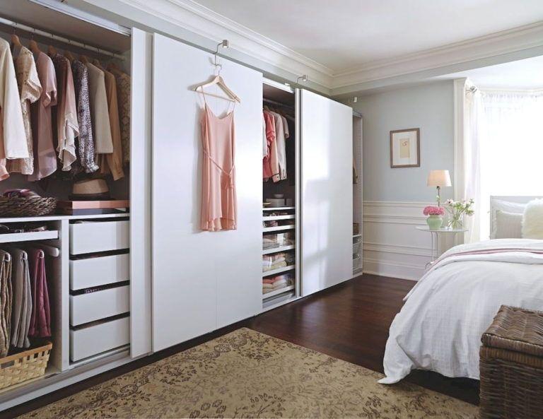 встроенные шкафы в интерьере дома