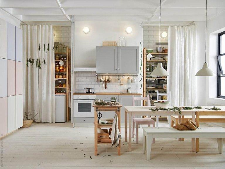 мебель и аксессуары от икеа для загородного дома