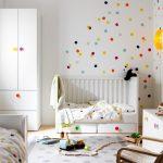 милая детская комната от икеа