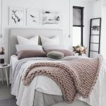 нежные пастельные тона для спальни от икеа