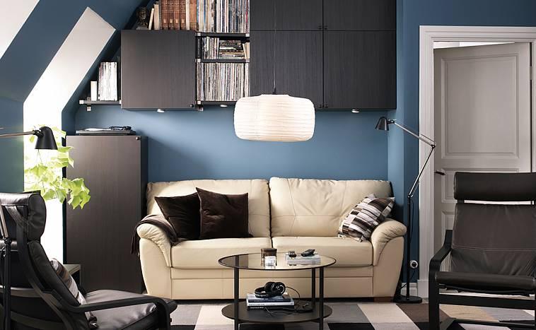 диван бежевого цвета от икеа