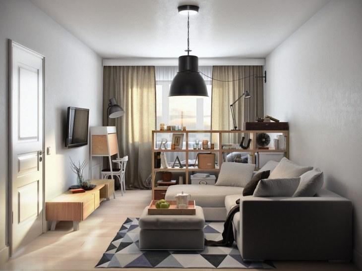 неповторимый дизайн комнаты от икеа