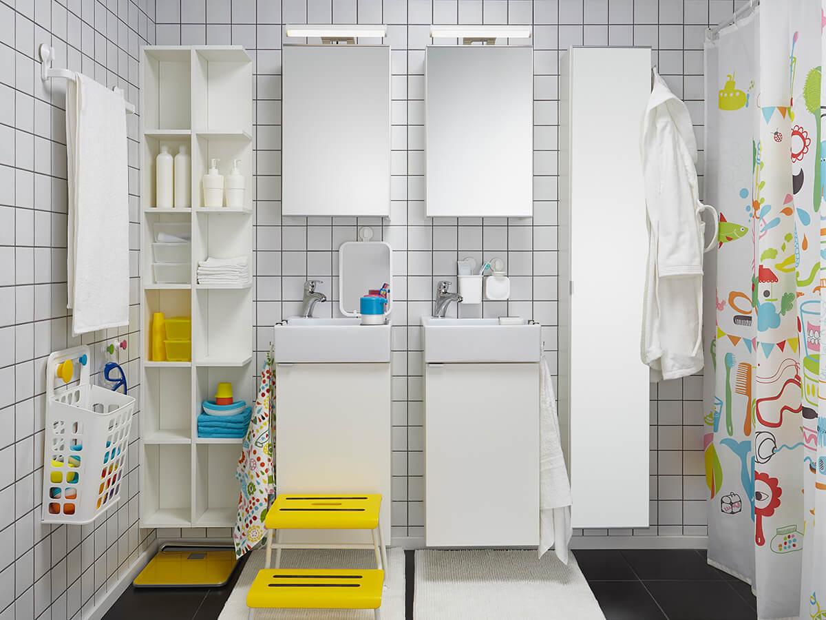 мебель для ванной комнаты от икеа