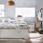 спальня в белом исполнении от икеа
