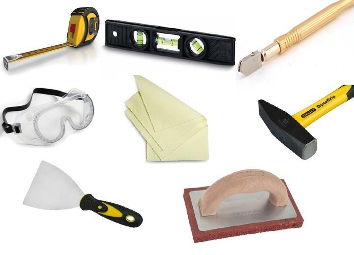 Набор инструментов для облицовки