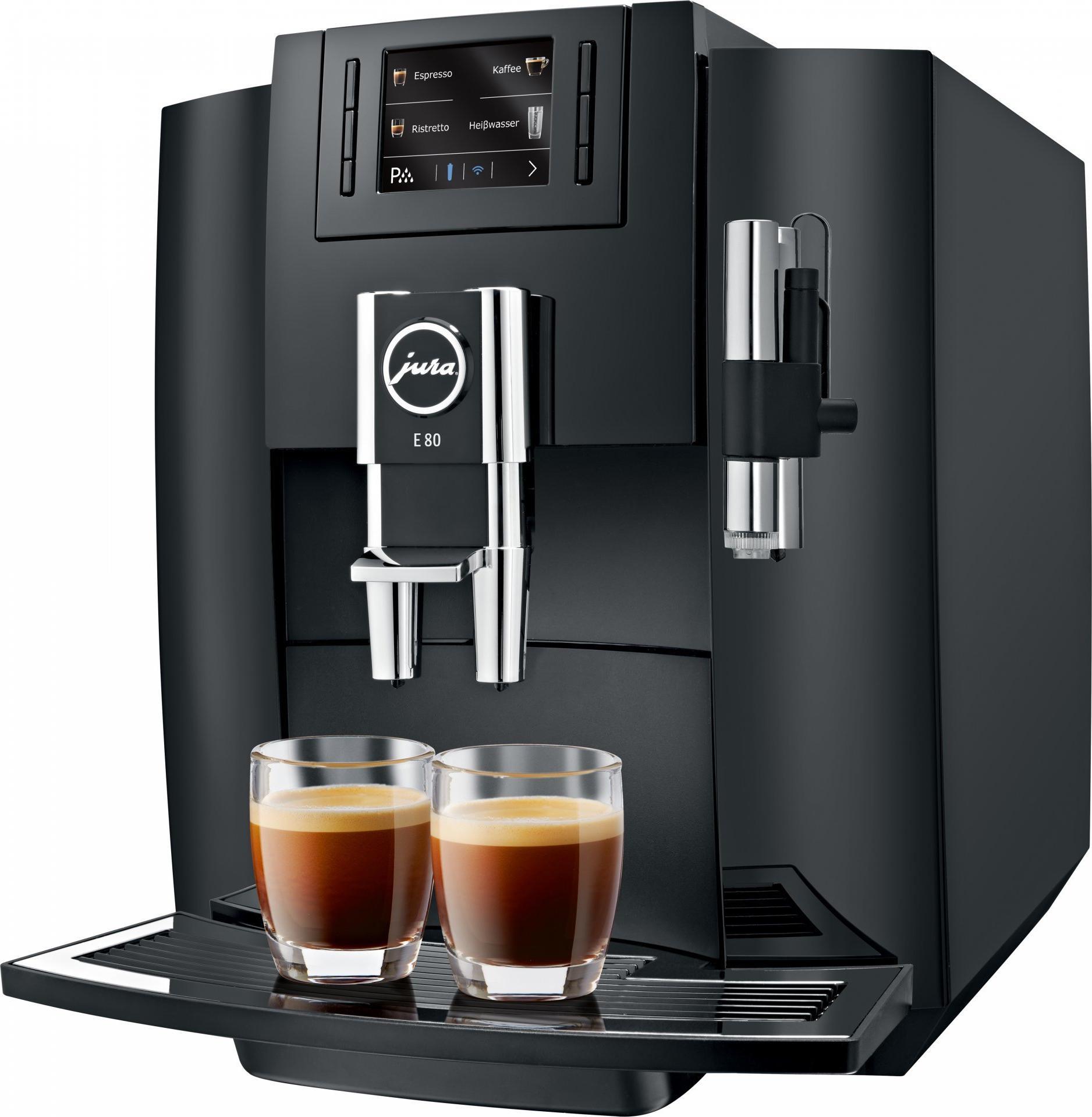 дорогая кофемашина с возможностью применения чалдов