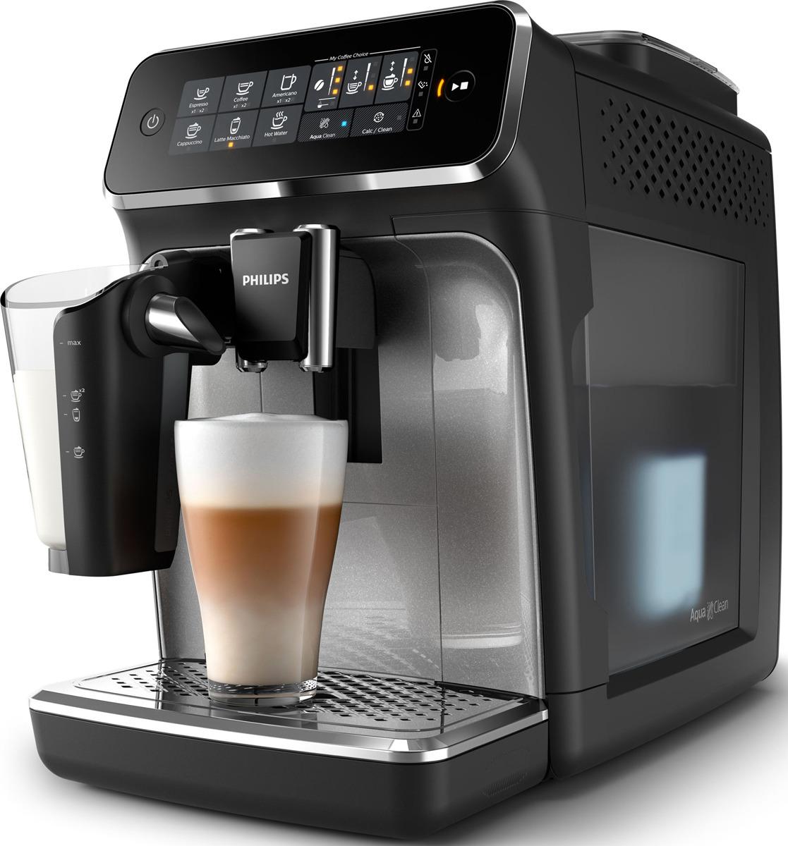 удобная кофемашина с автоматическим капучинатором