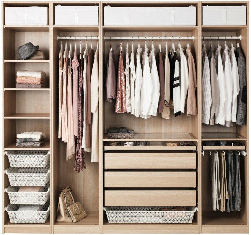 корпус-наполнительная гардеробная система