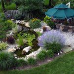 удачный дизайн садового участка