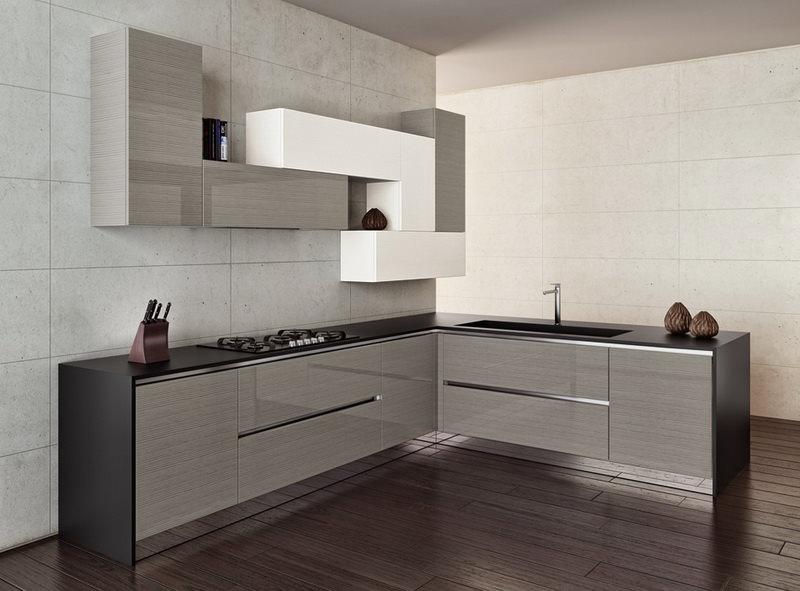 минимализм на кухонном пространстве