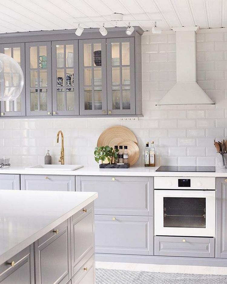 идеальная чистота на кухне Икеа