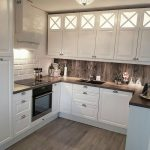 полное использование пространства на кухне