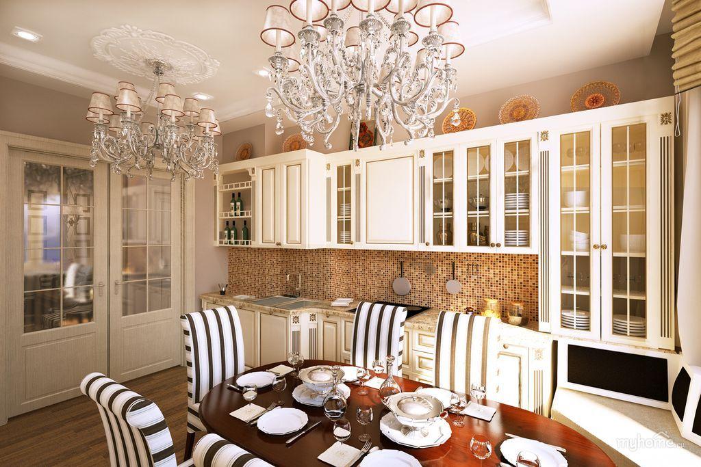 стол овальной формы для кухни