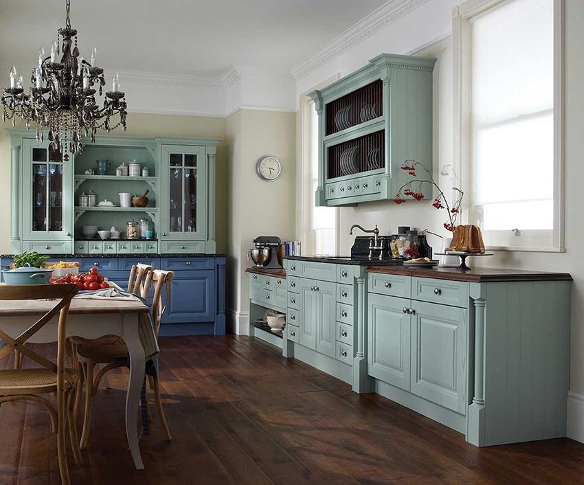 люстра для кухни в ретро стиле