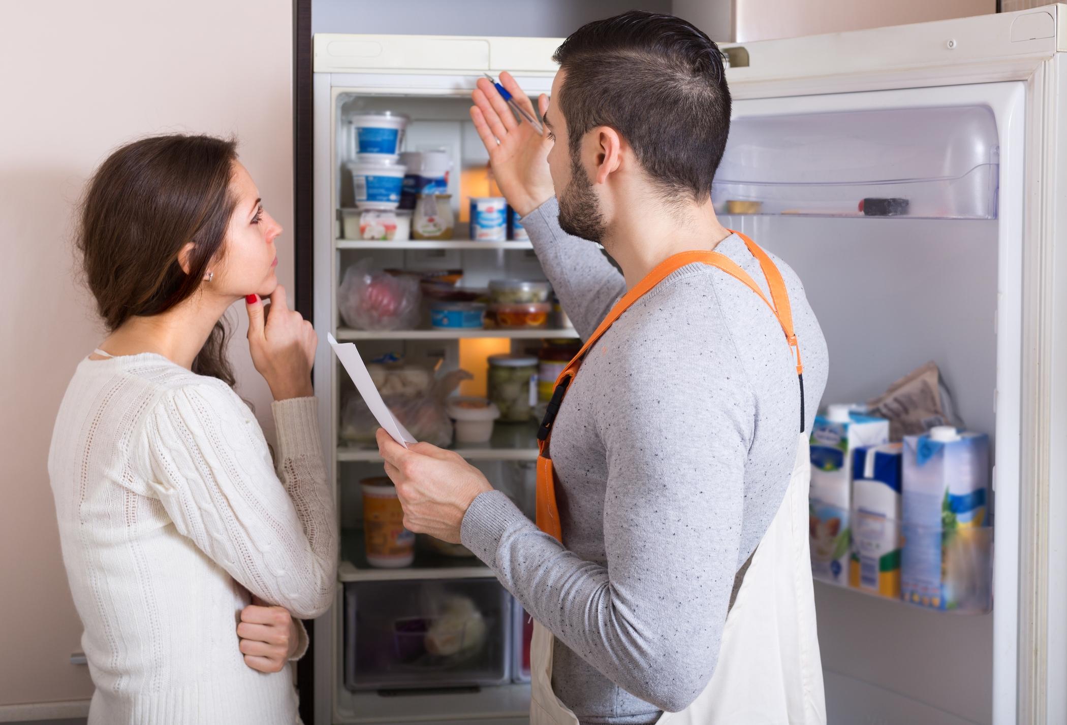 причины поломок холодильника