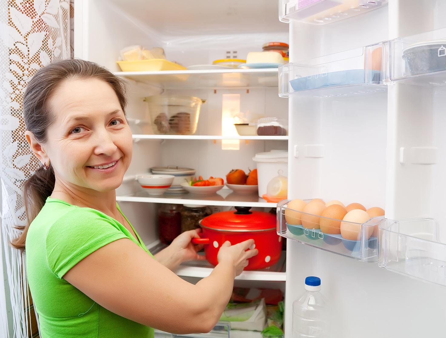 как остудить пищу