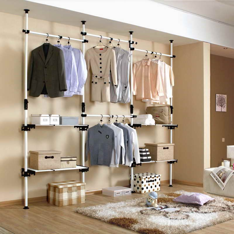 панельная гардеробная для деловых людей