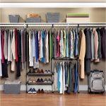 Вместительная гардеробная система панельного типа
