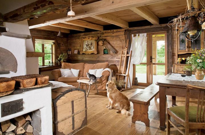 Детали создадут атмосферу деревенского дома