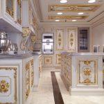 королевский декор кухни