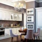 плинтус в декоре кухонной зоны