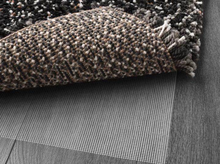 серый ковер с ворсом икеа с подстилкой стоп фильт