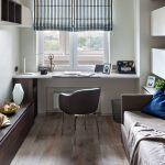 использование подоконника в комнате
