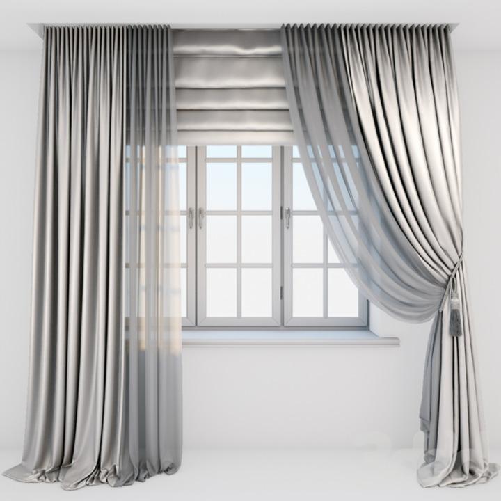 Шелковые шторы Икеа