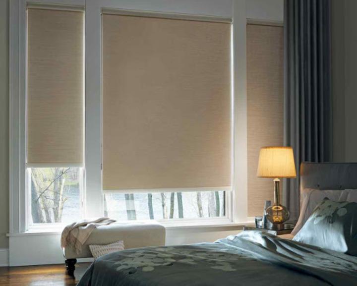 Рулонные шторы Икеа для спальни