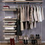 Собранный гардероб для спальной комнаты