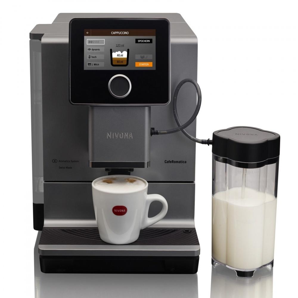 встроенный автоматический капучинатор в кофемашине