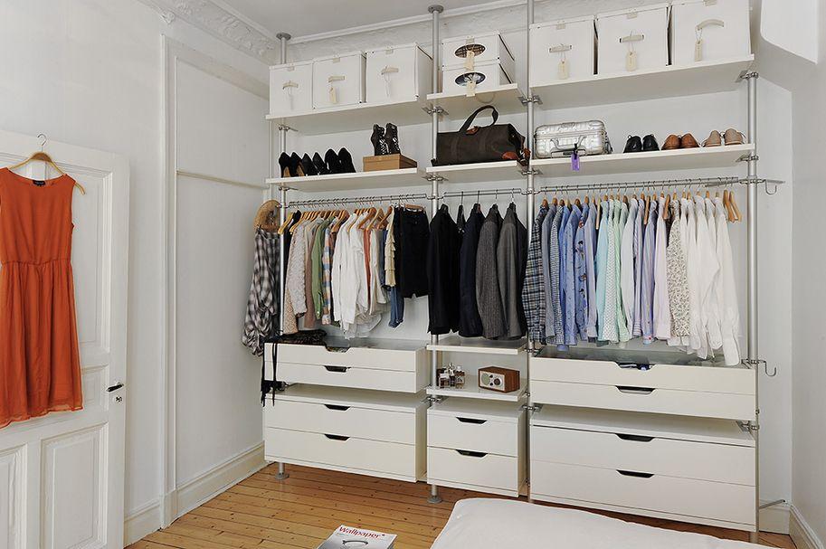 Вместительный и высокий гардероб Стольмен