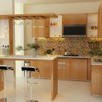 декорирование кухни с барной стойкой