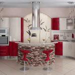оформление кухонной зоны