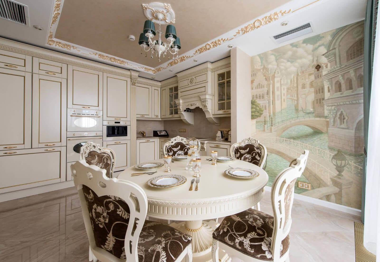 изысканная мебель для кухни