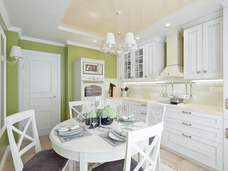 стилистика оформления кухни