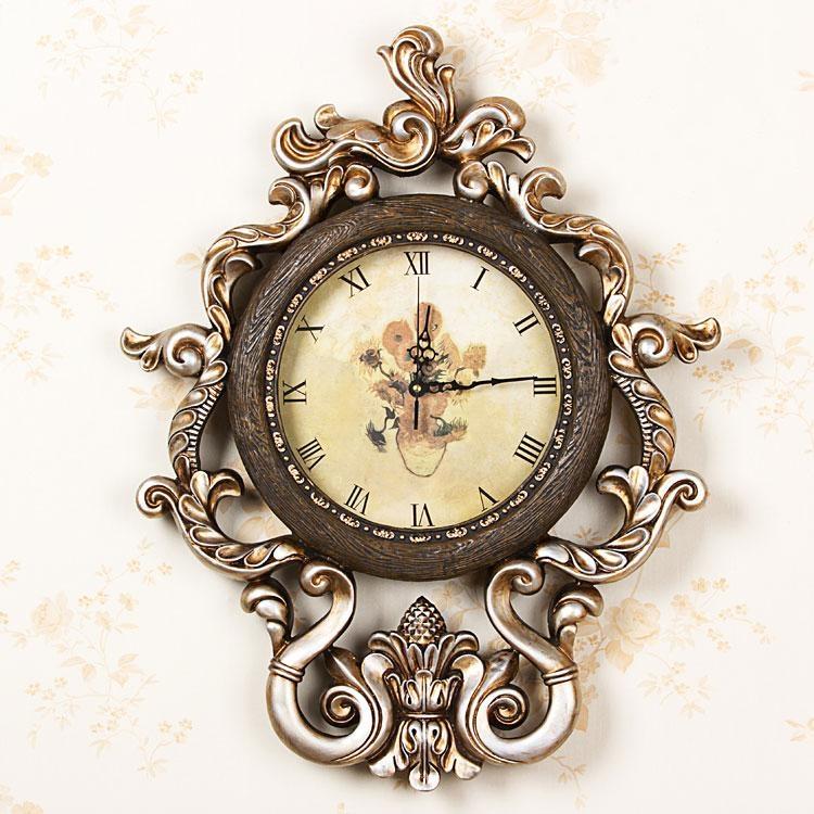 часы в стиле барроко