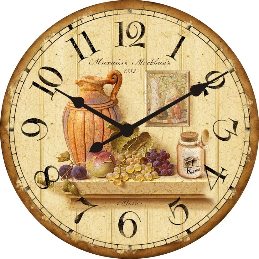 часы в стиле ретро-кантри