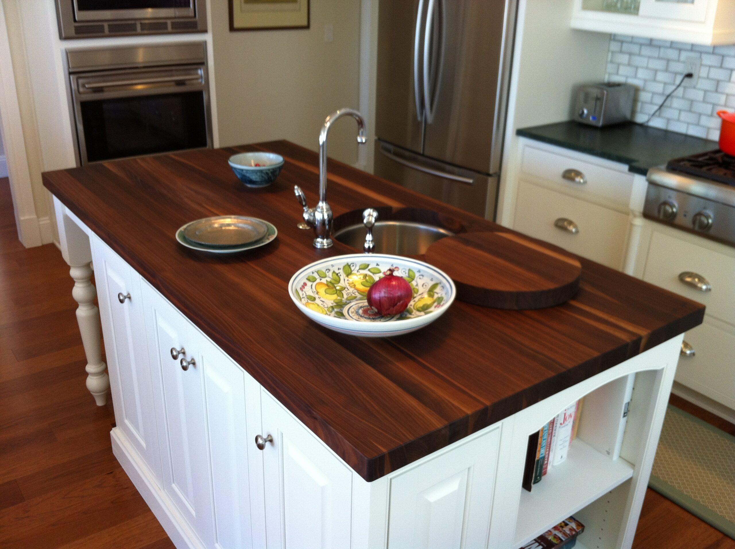 Деревянные кухонные столешницы