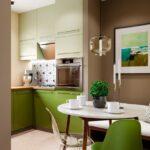 Дизайн маленькой кухни 3х3
