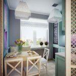 Дизайн маленькой кухни Прованс