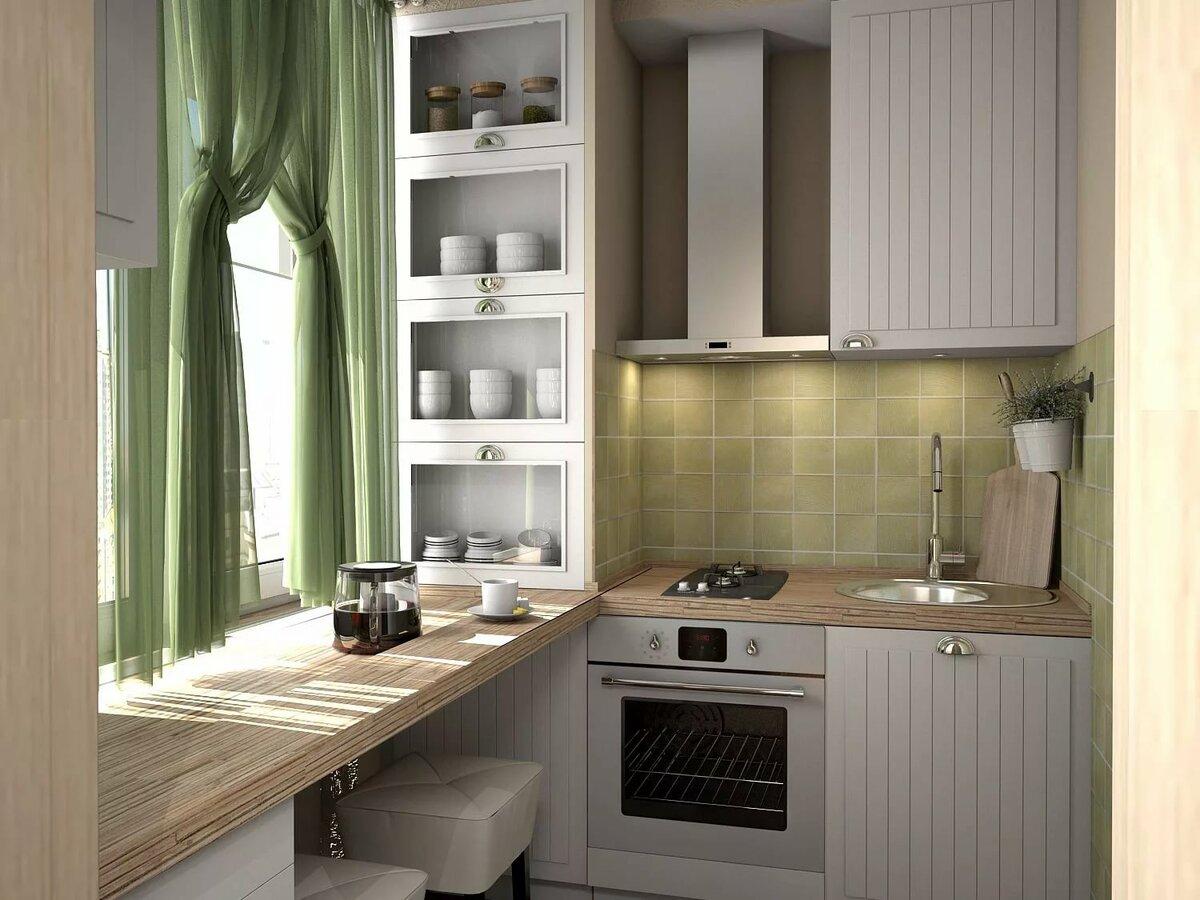 кухня на пять квадратов дизайн фото служит