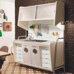 оригинальная мебель послевоенного времени для кухни