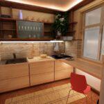 Идеи ремонта маленькой кухни