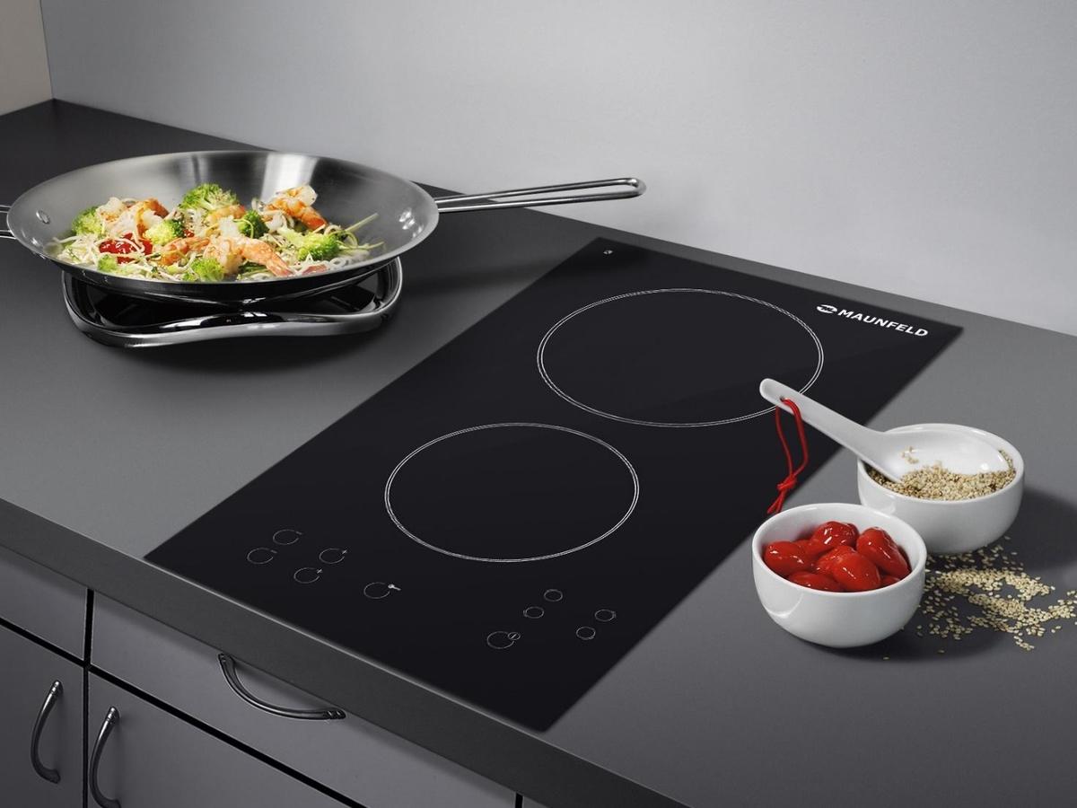современная индукционная печь