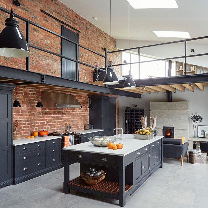 приваривая шарниры кухни в промышленном стиле фото нечему особо удивляться