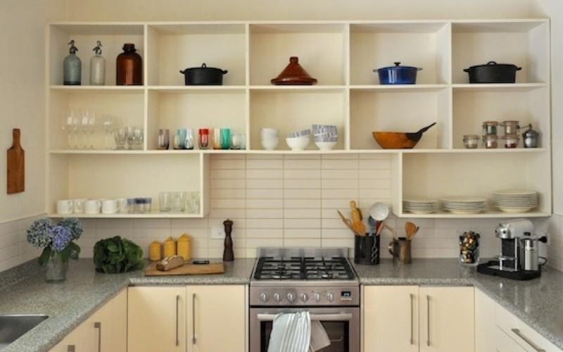 Как сделать полочки на кухне