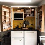 Компактные кухни для мини дома