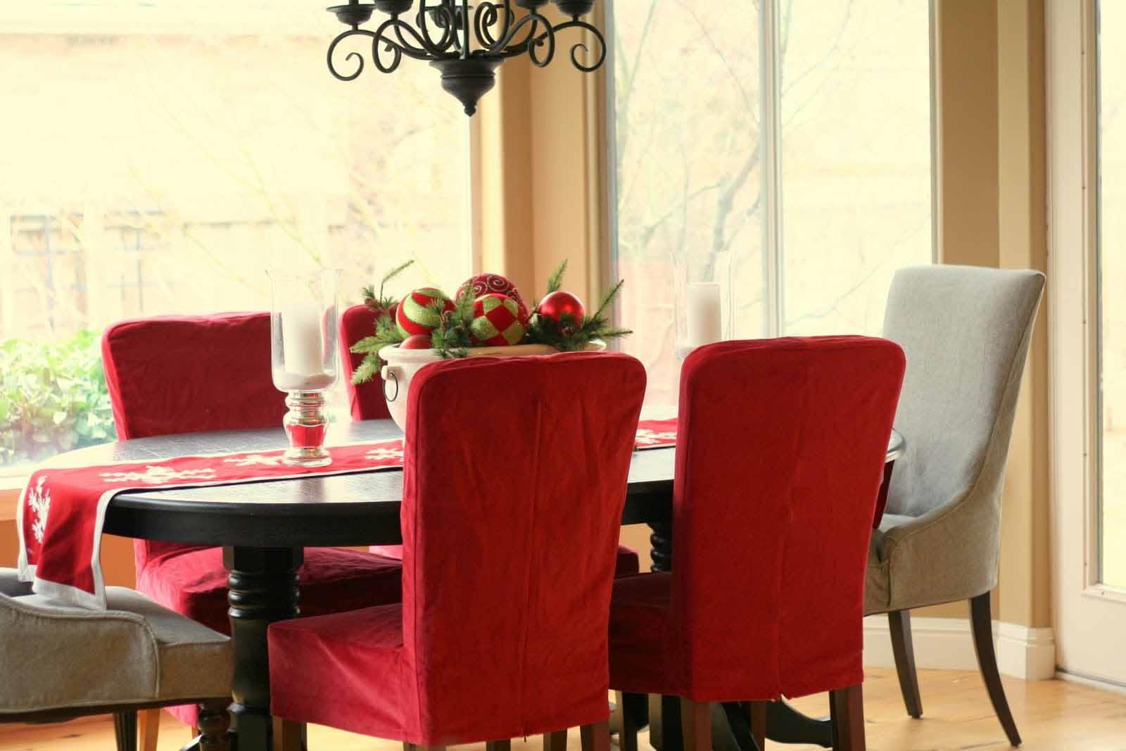 красные кресла для кухни