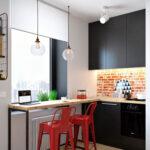 Кухня лофт маленькая